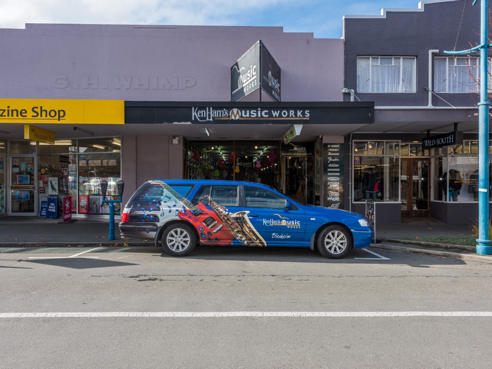 Music Store Business for Sale Blenheim