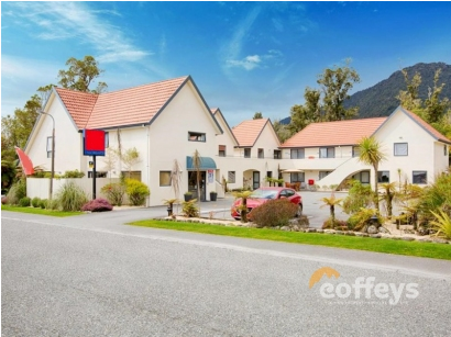 Tourist Based Motel for Sale Franz Josef