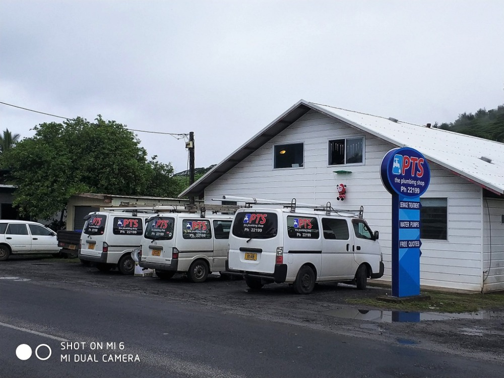 Plumbing Business for Sale Rarotonga