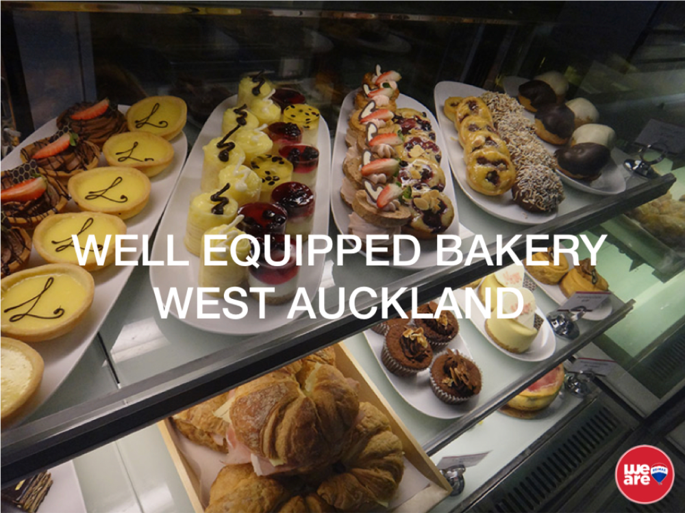 Bakery  Business for Sale West Auckland