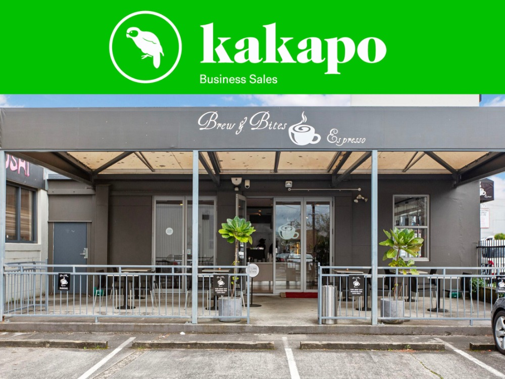 Cafe for Sale Kingsland Auckland
