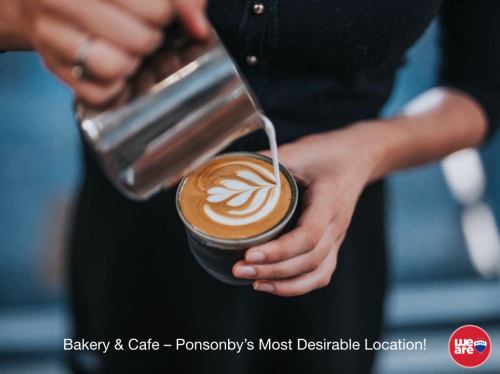 Cafe and Bakery for Sale Ponsonby Auckland