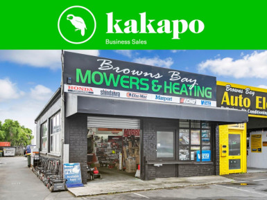 Retail and Service Business for Sale Browns Bay Auckland