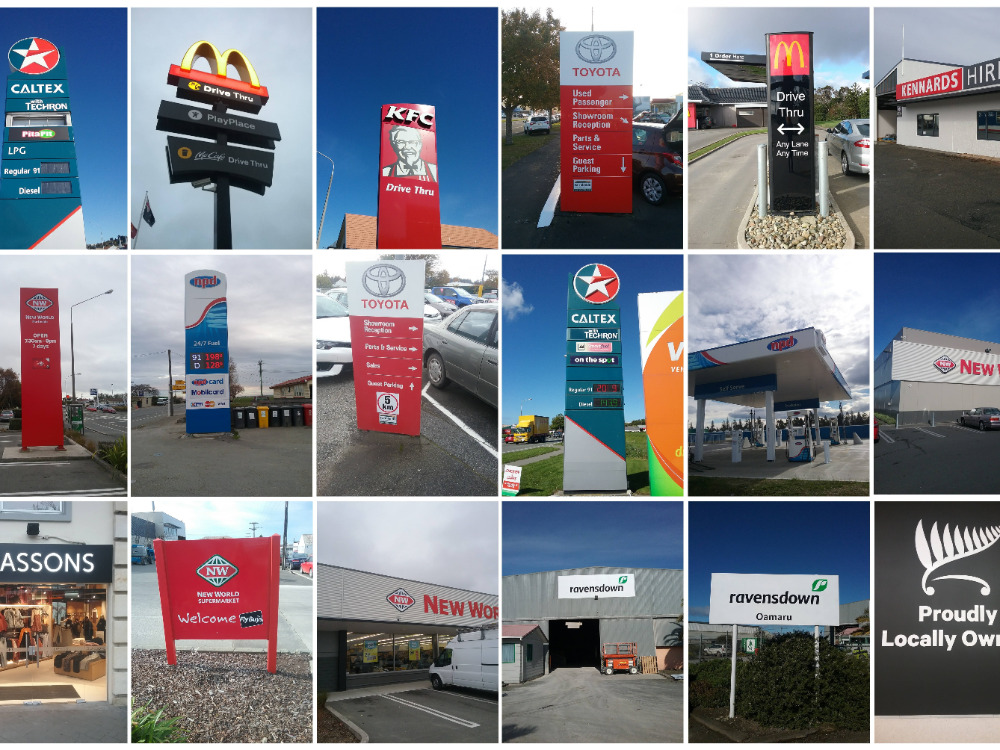 Sign Installation Service Business for Sale Oamaru