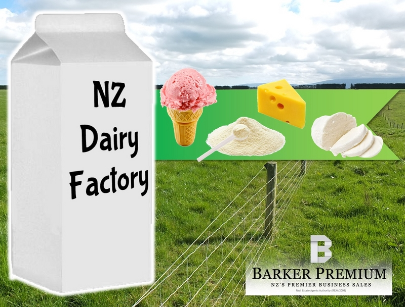 Dairy Factory Business for Sale Tarankai