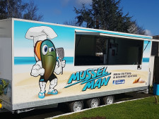 Gourmet Seafood Food Trailer  Business  for Sale