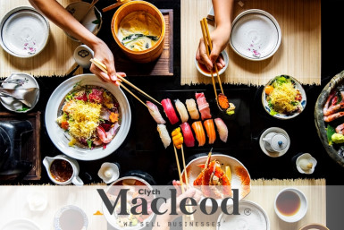 Licensed Japanese Restaurant  Business  for Sale