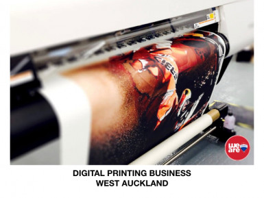 Digital Printing Business for Sale West Auckland