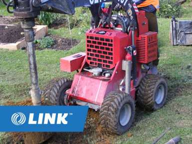 Digger Service  Business  for Sale