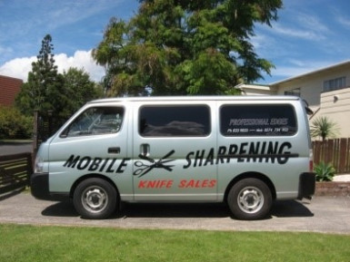 Mobile Sharpening  Business  for Sale