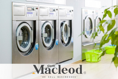 Busy Laundromat  Business  for Sale