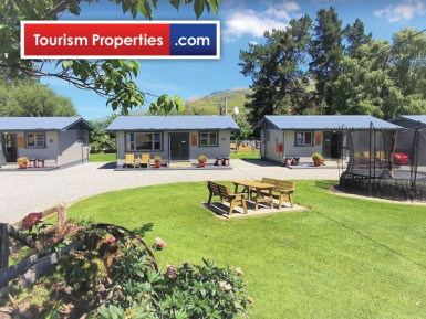 Clutha Gold Cottages and Holiday Park Business for Sale Roxburgh Otago