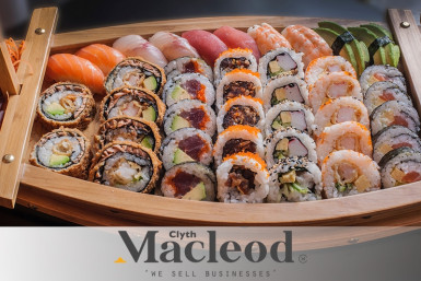 Sushi Takeaway Business for Sale North Shore