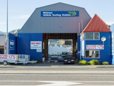Vehicle Testing Business for Sale Nelson