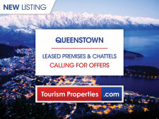 Leased Premises and Chattels Business for Sale Queenstown